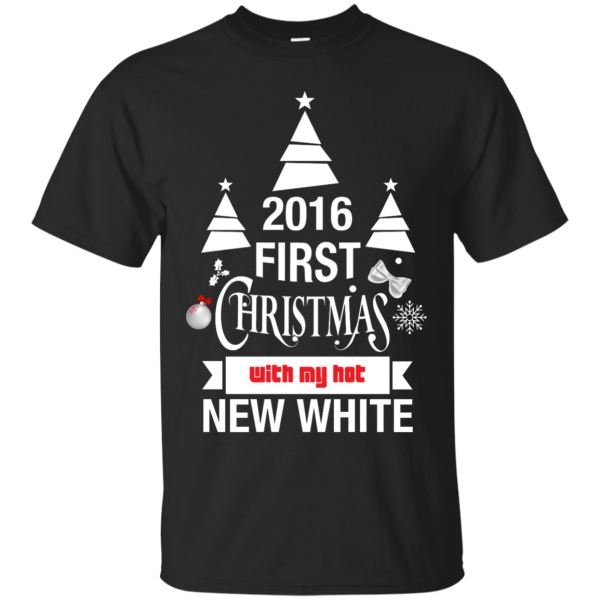 2016 First Christmas With My Hot New Wife T Shirt Funny Tee T-Shirt & Hoodie